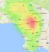 LA road traffic collisions - autonomous cars